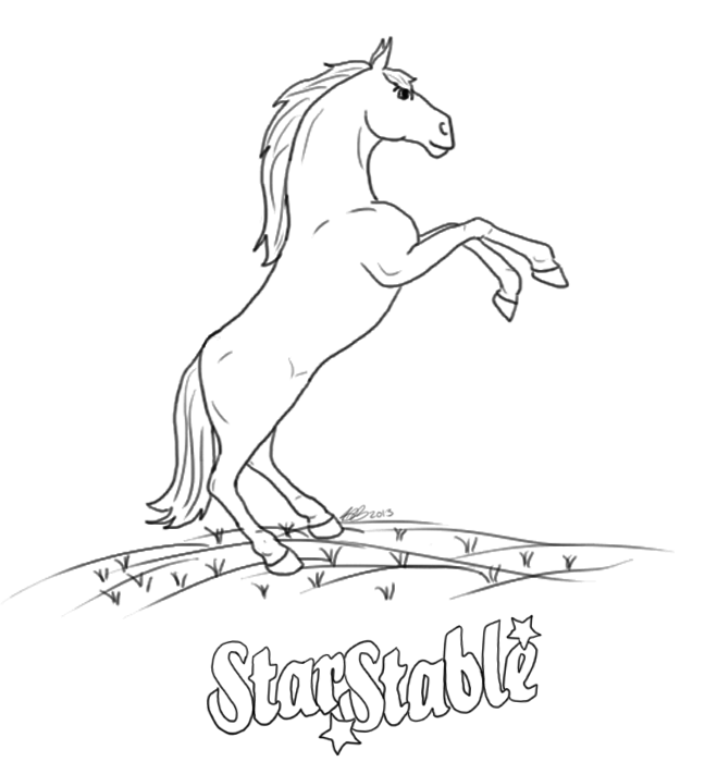 star stable Colouring Pages