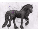Friesian [Made for other project, I did not care about fingerprints outside of the image, custom artwork will be cleaner, image used as example only!]